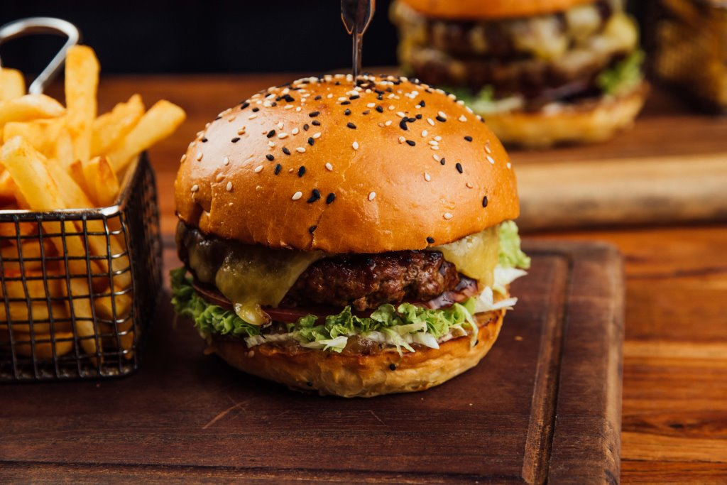 Cheese Burger 200g