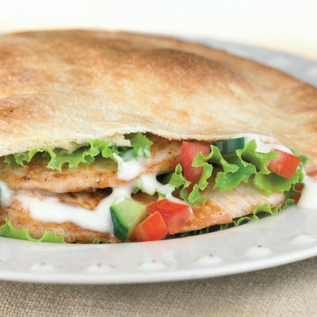 Chicken Pita - + Chips