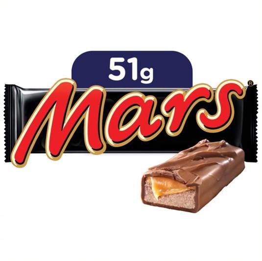 Mars Choc Bar 51g